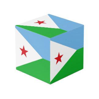 Dschibuti-Flagge Würfel