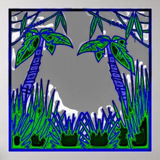 Dschungel 1 plakatdruck