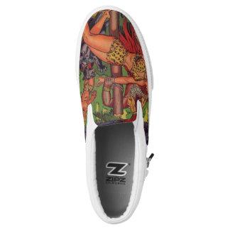 Dschungel-Abenteuer Slip-On Sneaker