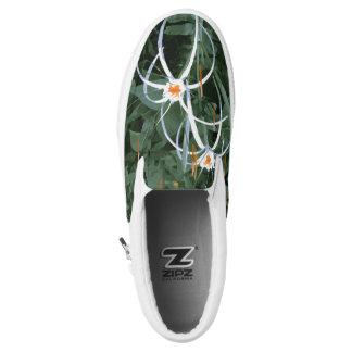 Dschungel-Blumen Slip-On Sneaker
