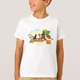 Dschungel-Buch-Gruppe schoss 4 T-Shirt