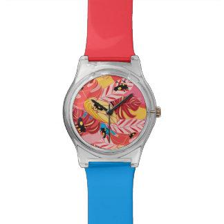 Dschungel-Frösche Armbanduhr