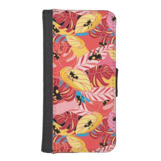 Dschungel-Frösche iPhone SE/5/5s Geldbeutel Hülle