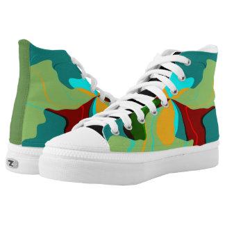 Dschungel IV Hoch-geschnittene Sneaker