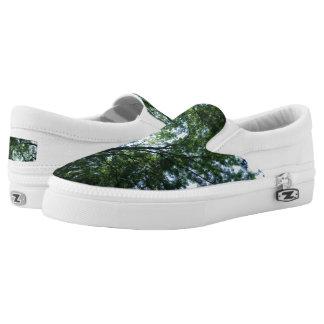 Dschungel kundenspezifischer Zipz Beleg auf Slip-On Sneaker
