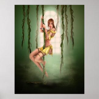 Dschungel-Liebhaber Poster