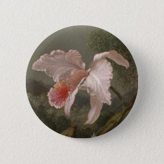Dschungel-Orchideen und Kolibris Runder Button 5,7 Cm