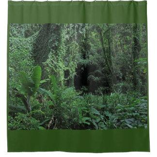 Dschungel-Palme Duschvorhang