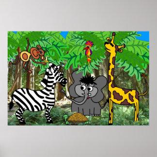 Dschungel Plakatdruck
