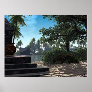 Dschungel Posterdruck