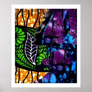 Dschungel-Schönheit Plakatdrucke