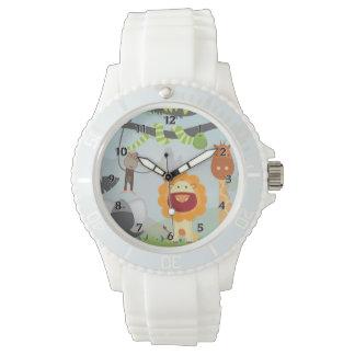 Dschungel-Spaß Armbanduhr