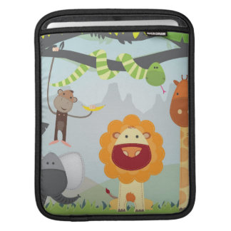 Dschungel-Spaß Sleeve Für iPads
