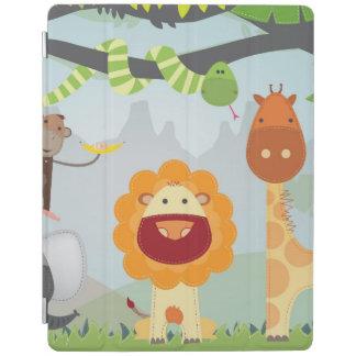 Dschungel-Tier-Spaß iPad Smart Cover