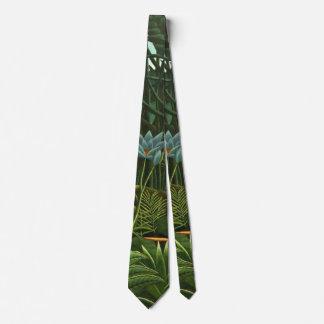 Dschungel-Traum 1910 Bedruckte Krawatten
