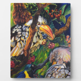 Dschungel-Vögel Fotoplatte