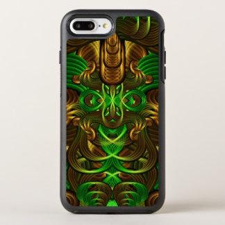 Dschungel wurzelt Mandala OtterBox Symmetry iPhone 8 Plus/7 Plus Hülle