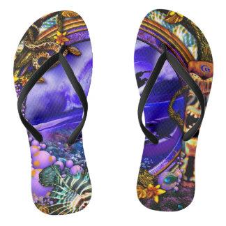 Dschungelfieberzapfen Flip Flops