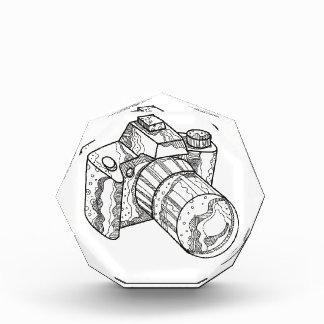 DSLR Kamera-Gekritzel-Kunst Acryl Auszeichnung