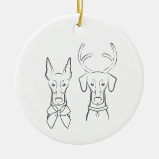 DTDR Feiertags-Verzierungs-- geernteter u. Keramik Ornament