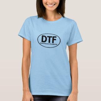 DTF im Stadtzentrum gelegenes Frederick T-Shirt