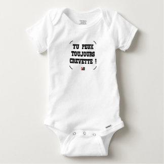 DU KANNST IMMER GARNELE! - Wortspiele Baby Strampler