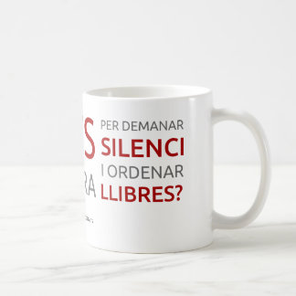 Du nähst von bibliotecaris - Motto 1 Kaffeetasse