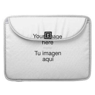 Du tust deine personalisierte Hülle mit deinen Bil Sleeves Für MacBooks