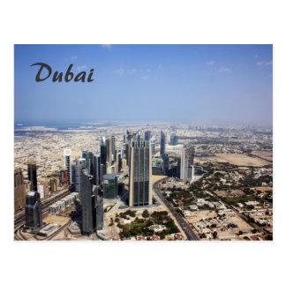 Dubai-Ansicht-Postkarte