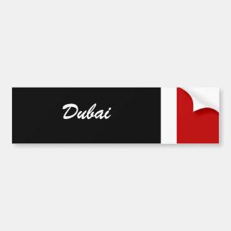 Dubai Autoaufkleber