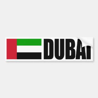 Dubai-Flaggen-Autoaufkleber Autoaufkleber