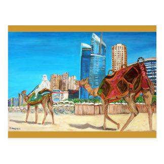 Dubai-Jachthafen Postkarte