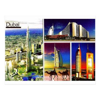DUBAI Postcard@MojiAOkubule Postkarte