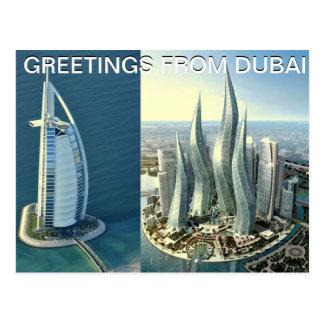 DUBAI-Postkarte entworfen durch Mojisola ein Postkarte