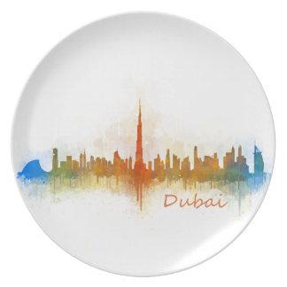 Dubai Skyline Cityscape Emirates v3 Melaminteller