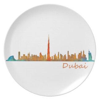 Dubai Skyline Cityscape v1 Melaminteller