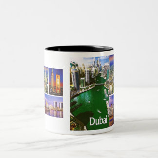DUBAI-Tasse MOJISOLA A GBADAMOSI OKUBULE Zweifarbige Tasse