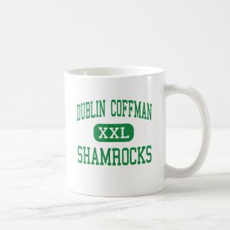 Dublin Coffman - Kleeblätter - hoch - Dublin Ohio Kaffeetasse