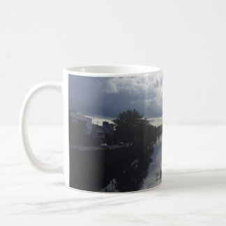 Dublin-Fluss-Sonnenuntergang-Tasse Kaffeetasse