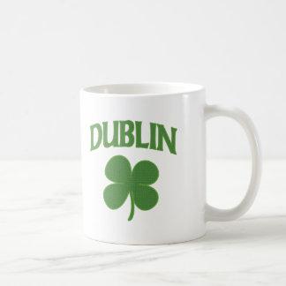 Dublin-Iren-Kleeblatt Kaffeetasse