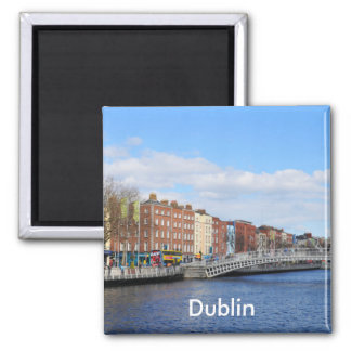 Dublin. Irland Quadratischer Magnet