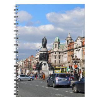 Dublin. Irland Spiral Notizblock