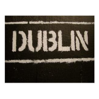 Dublin Postkarte