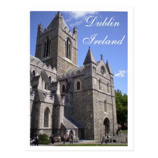 Dublin-Postkarte Postkarte