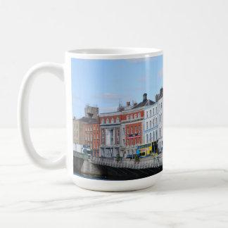 Dublin-Stadt auf dem Liffey Kaffeetasse