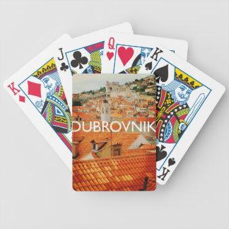Dubrovnik Bicycle Spielkarten