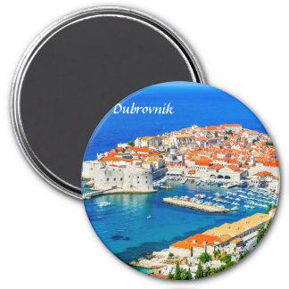 Dubrovnik, Kroatien Runder Magnet 7,6 Cm