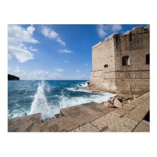 Dubrovnik-Landschaft Postkarte