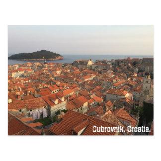 Dubrovnik-Postkarte Postkarte