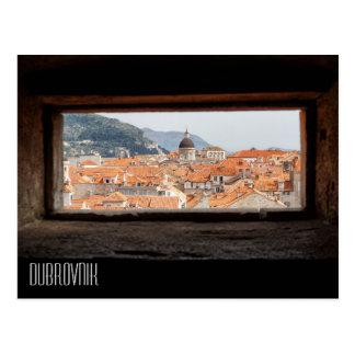 Dubrovnik von den Stadt-Wänden Postkarte